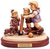 Hummel Figurines - Scooter Time
