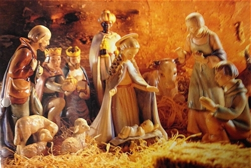Large Nativity Set